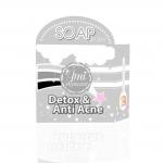 Detox & Anti Acne by Amiskincare สบู่ดีท็อกซ์ แอนตี้ แอคเน่ สบู่เอมิดีท็อกซ์สิว สบู่ก้อนดำ ที่จะทำให้คุณลืม คลีนซิ่งกับโฟมล้างหน้า
