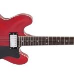กีต้าร์ไฟฟ้า VINTAGE #SEMI-Acoustic VSA535 Cherry Red