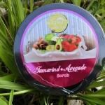 พริ้วพราวสครับไวท์ สครับขัดผิวมะขาม Tamarind Avocado Scrub 360 g.