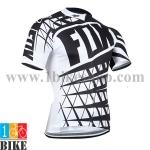 เสื้อปั้นจักรยาน Fox 2014 สีขาวดำ