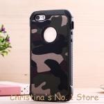 เคส iPhone 5, 5s , SE ลายทหาร