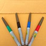 Crayola Dry-Erase Markers Fineline Bullettip ปากกาไวท์บอร์ด แบ่งขายเป็นแท่ง ปลอดสารพิษ