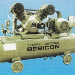 HITACHI OIL FREE BEBICON Model : 3.7OP-9.5G5A