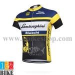 เสื้อปั้นจักรยาน Bianchi Lambogini 2015