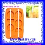 ถาดทำน้ำแข็ง รูปส้ม ( Ice tray ) เป็นถาดทำน้ำแข็งรูปส้ม แบบน่ารักน่าใช้