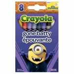 Crayola Gone Batty สีเทียนแท่งเล็ก กล่องละ 8 แท่ง ปลอดสารพิษ