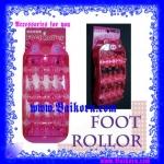 ลูกกลิ้งเท้า ที่ช่วยทำให้รู้สึกผ่อนคลาย ( ) ช่วยบริหารเท้า ทำให้รู้สึกผ่อนคลาย รูปหมู สีชมพูสดใส