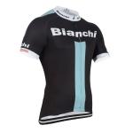 เสื้อปั้นจักรยาน Biachi 2015 สีดำเขียว