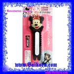 ที่รัดสาย / สายไฟ / สายชาร์จ / สายหูฟัง หรือ ที่รัดแบบอเนกประสงค์ ตัวการ์ตูน ลาย Minnie Mouse แบบใหญ่ แพ็ค 1 ชิ้น