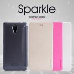 เคสมือถือ Xiaomi Mi4 ยี่ห้อ Nillkin รุ่น Sparkle Leather Case