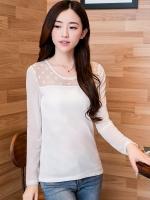 เสื้อลายจุด-สีขาว-1411
