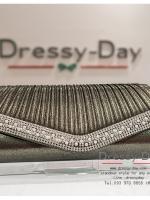 กระเป๋าออกงาน TE021: กระเป๋าออกงานพร้อมส่ง สีดำ ดีเทลเพชร มุข สุดหรู ราคาถูกกว่าห้าง ถือออกงาน หรือ สะพายออกงาน สวย หรู ดูดีมากค่ะ