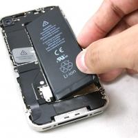 แบตโทรศัพท์ iphone , samsung