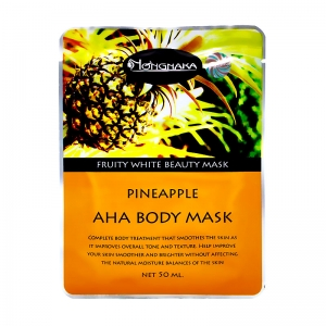 Nongnaka Pineapple AHA Body Mask น้องนะคะ พายแอปเปิ้ล เอเอชเอ บอดี้ มาส์ค