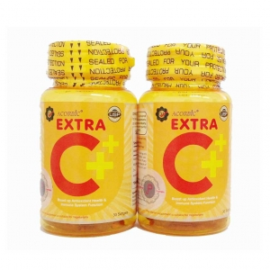 Acorbic Extra C+ soft gel by JP Natural เอ็กซ์ตร้า ซี พลัส ซอฟท์เจล
