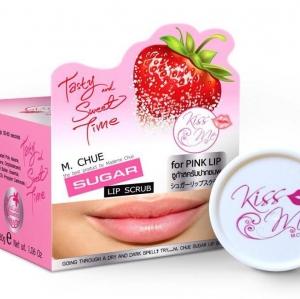 M.Chue Kiss Me Sugar Lip Scrub เอ็ม จู คิสมี ซูก้า ลิปสครับ