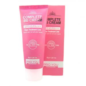 Pro You Complete BB Cream SPF45 PA+++ คอมพลีท บีบี ครีม ขาวเนียน