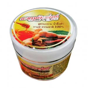Tamarind & Coffee Scrub สครับ มะขามผิวผ่อง สูตรมะขาม น้ำผึ้งดำ กาแฟ ธรรมชาติ 100%