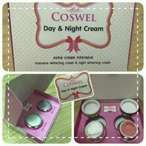 COSWEL Day & Night Cream คอสเวล ครีมบำรุงผิวสูตรเข้มข้นกลางวันและกลางคืน