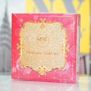 Platinum Gold Set by Freshy Face แพลตตินัม โกลด์ เซ็ต กล่องชมพู