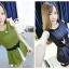 ชุดกางเกงสไตล์เกาหลี ระบายซับชีฟอง น่ารักฝุดๆเลยน้า มี 4สีค่ะ thumbnail 3