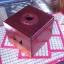 กล่องทิชชู่แบบม้วน ทำจากไม้สักอย่างดี แข็งแรง ทนทาน thumbnail 1