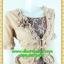 2511ชุดแซกทำงาน เสื้อผ้าคนอ้วนปูลูกไม้ตัวในคลุมด้วยตัวนอกแต่งระบายปกแขนสไตล์หรูเนี๊ยบ thumbnail 2