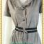 1956เสื้อผ้าคนอ้วนสก็อตปกฮาวายแต่งระบายปก เบรคลายด้วยโบสีดำเพิ่มทรงให้มีเอว โดดเด่นด้วยระบายสไตล์ชุดคนอ้วนทำงานทรงสุภาพเรียบร้อย thumbnail 3
