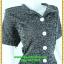 2917เสื้อผ้าคนอ้วน ชุดเดรสทำงานผ้าลายซาฟารีกระเป๋าล้วงข้างลำตัว กระดุมหน้ารูปแบบเรียบง่าย แขนสั้นธรรมดา แอบเก๋ด้วยสม็อกข้างลำตัวด้านซ้ายและขวาเป็นแบบที่เรียบง่ายสไตล์เท่ห์คล่องตัว thumbnail 2
