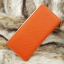 กระเป๋าสตางค์ผู้หญิง ทรงยาว รุ่น Cheer Orange/White thumbnail 4