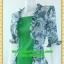 2373ชุดทํางาน เสื้อผ้าคนอ้วนเขียวมีเกาะอกมีชุดคลุมลายวินเทจระบายคอเลิศหรูสีเข้มหรูสง่างามสวมใส่ทำงานสไตล์หรูมั่นใจ thumbnail 3