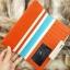 กระเป๋าสตางค์ผู้หญิง ทรงยาว รุ่น Cheer Orange/White thumbnail 6
