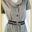 1956เสื้อผ้าคนอ้วนสก็อตปกฮาวายแต่งระบายปก เบรคลายด้วยโบสีดำเพิ่มทรงให้มีเอว โดดเด่นด้วยระบายสไตล์ชุดคนอ้วนทำงานทรงสุภาพเรียบร้อย thumbnail 2