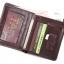 กระเป๋าสตางค์ผู้ชาย หนังวัวแท้ 100% ทรงสั้น Leather CC Black สีดำ thumbnail 10
