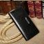 กระเป๋าสตาค์ผู้ชาย ทรงยาว แบบซิป Denater Zipper สีดำ thumbnail 15