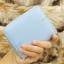 กระเป๋าสตางค์ผู้หญิงทรงสั้นซิป สีฟ้า thumbnail 8