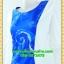2600ชุดทํางาน เสื้อผ้าคนอ้วนฟ้าลายก้นหอยคอกลมแต่งแขนขาวสีพื้นทรงกิโมโนสไตล์ญี่ปุ่นเรียบหรูสวมใส่สบายผ้าอินโดนำเข้า ผ้าอินโดเนื้อนอก thumbnail 3