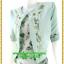 2980เสื้อผ้าคนอ้วน เสื้อผ้าแฟชั่นคอกลมตัวในมีตัวนอกคลุมทับลายดอกหวานสไตล์หวานเรียบร้อยสุภาพเป็นทางการ thumbnail 3