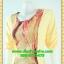 2805ชุดทํางาน เสื้อผ้าคนอ้วนสีเหลืองแต่งลายคอกลมแต่งแขนพื้นทรงหลวมสไตล์ญี่ปุ่นเรียบหรูสวมใส่สบาย thumbnail 3