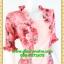 2540เสื้อผ้าคนอ้วน เสื้อผ้าแฟชั่นดอกชมพูเกาะอกมีชุดคลุมลายวินเทจระบายคอเลิศหรูสีเข้มหรูสง่างามสวมใส่ทำงานสไตล์หรูมั่นใจ thumbnail 2