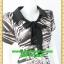 2289ชุดทํางาน เสื้อผ้าคนอ้วนคอปกแต่งโบใส่สบายผ้าเบาสบาย รูปทรงชุดหลวมคล่องตัว พร้อมซับใน thumbnail 2
