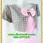 2604เสื้อผ้าคนอ้วน ชุดทำงานคอกลมสีชมพูแต่งกั๊กลายตารางสไตล์เกาหลีสวมใส่ทำงานน่ารักสะดุดตาให้เลือกสวมใส่ทำงาน thumbnail 2