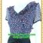 2474ชุดแซกทำงาน เสื้อผ้าคนอ้วนผ้าวาเลนติโน่ปกระบายด้านหน้าผ้ากระโปรงน้ำหนักเบาลายไทยหรูหรา กระโปรงทรงแยก6ชิ้นใส่สบายสไตล์เนี๊ยบหรู thumbnail 3