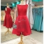 รหัส ชุดราตรีสั้น :PF132 ชุดแซก ชุดราตรีสั้น สีแดง ชุดยกน้ำชา ริมทะเล เหมาะสำหรับงานแต่งงาน งานกลางคืน กาล่าดินเนอร์ thumbnail 1