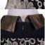 ชุดเดรสแฟชั่น สีดำ ปักด้ายทองลายดอกไม้ thumbnail 3
