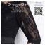 รหัส ชุดราตรีสั้น :AC024 ชุดราตรีแบบสั้นสีดำมีแขนยาวผ้าลูกไม้ กระโปรงผ้าซาติน thumbnail 6
