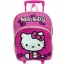 กระเป๋าล้อลาก Hello Kitty Girl's Rolling Backpack - Pink thumbnail 1