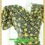 3085ชุดทำงาน เสื้อผ้าคนอ้วนลายไทยสีเหลือง คอถ่วงชุดเข้ารูปเอาทรงเอผ้าเบาพริ้วนิ่มทิ้งตัว thumbnail 2