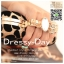 กระเป๋าออกงาน BM015 : กระเป๋าคลัชสวย หรู สีทอง สีทองแดง เรียบเก๋ๆ ราคาถูก ใส่คู่กับชุดเดรสออกงานน่ารักมากค่ะ ลายเสือ สีดำ/ทอง thumbnail 4