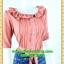 2507เสื้อผ้าคนอ้วน ชุดทำงานสีกะปิชุดคอระบายแขนยาวตีเกล็ดสวยงามจับคู่กระโปรงสไตล์แฟนซีสดใสมีซับในความยาวสุภาพคลุมเข่าผ้าเนื้อดี thumbnail 2